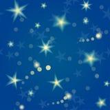 Άνευ ραφής σχέδιο αστεριών Στοκ φωτογραφία με δικαίωμα ελεύθερης χρήσης