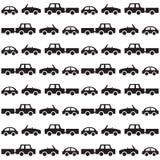 Άνευ ραφής σχέδιο αυτοκινήτων Στοκ Εικόνα