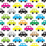 Άνευ ραφής σχέδιο αυτοκινήτων Στοκ φωτογραφία με δικαίωμα ελεύθερης χρήσης