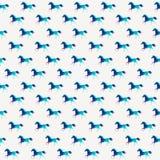 Άνευ ραφής σχέδιο αλόγων διάνυσμα Διανυσματικό άλογο τριγώνων Περίληψη ελεύθερη απεικόνιση δικαιώματος