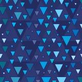 Άνευ ραφής σχέδιο βημάτων τριγώνων Στοκ Εικόνες