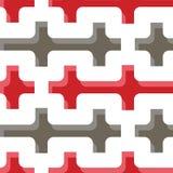 Άνευ ραφής σχέδιο γεωμετρίας Στοκ εικόνα με δικαίωμα ελεύθερης χρήσης