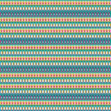 Άνευ ραφής σχέδιο, γεωμετρικό σχέδιο Στοκ Φωτογραφία