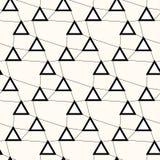 Άνευ ραφής σχέδιο γραμμών τεχνολογίας Ανώμαλο πλέγμα με τα τρίγωνα σε ανοικτή επικοινωνία, υπόβαθρο Στοκ φωτογραφία με δικαίωμα ελεύθερης χρήσης
