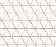 Άνευ ραφής σχέδιο γραμμών τεχνολογίας τριγώνων Στοκ Εικόνες