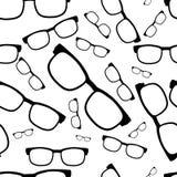 Άνευ ραφής σχέδιο γυαλιών, eyeglasses Στοκ εικόνες με δικαίωμα ελεύθερης χρήσης