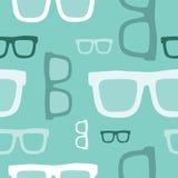 Άνευ ραφής σχέδιο γυαλιών Hipster Στοκ φωτογραφία με δικαίωμα ελεύθερης χρήσης