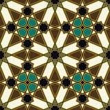 Άνευ ραφής σχέδιο επτά Taza Στοκ Εικόνες