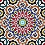 Άνευ ραφής σχέδιο επτά Zufar Στοκ Εικόνες