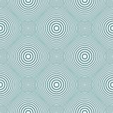 Άνευ ραφής σχέδιο κύκλων και δαχτυλιδιών απεικόνιση αποθεμάτων
