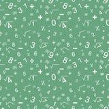 Άνευ ραφής σχέδιο μαθηματικών Στοκ εικόνα με δικαίωμα ελεύθερης χρήσης