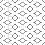 Άνευ ραφής σχέδιο, μαύρες λεπτές κυματιστές γραμμές στο λευκό διανυσματική απεικόνιση