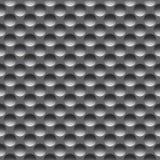 Άνευ ραφής σχέδιο μετάλλων με τις στρογγυλές τρύπες, ράστερ στοκ εικόνες