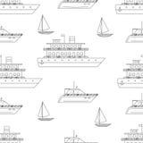 Άνευ ραφής σχέδιο μεταφορών νερού ελεύθερη απεικόνιση δικαιώματος