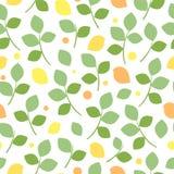Άνευ ραφής σχέδιο με ένα φυσικό μοτίβο Στοκ εικόνες με δικαίωμα ελεύθερης χρήσης