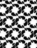 Άνευ ραφής σχέδιο με τα βέλη, γραπτός άπειρος γεωμετρικός Στοκ φωτογραφία με δικαίωμα ελεύθερης χρήσης