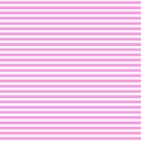 Άνευ ραφής σχέδιο με τα ρόδινα δίχρωμα χρώματα Οριζόντιο αφηρημένο υπόβαθρο λωρίδων Στοκ Εικόνες
