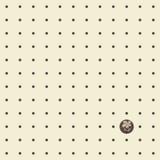 Άνευ ραφής σχέδιο με τα σημεία και το λουλούδι Πόλκα Στοκ Φωτογραφίες