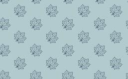 Άνευ ραφής σχέδιο με τα φύλλα σφενδάμου φθινοπώρου Στοκ φωτογραφία με δικαίωμα ελεύθερης χρήσης