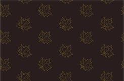 Άνευ ραφής σχέδιο με τα φύλλα σφενδάμου φθινοπώρου Στοκ φωτογραφίες με δικαίωμα ελεύθερης χρήσης