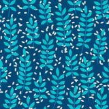 Άνευ ραφής σχέδιο με τα φύλλα φοινικών Στοκ εικόνες με δικαίωμα ελεύθερης χρήσης
