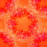 Άνευ ραφής σχέδιο με τα bellflowers floral διακόσμηση Στοκ Φωτογραφία