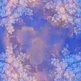 Άνευ ραφής σχέδιο με τα bellflowers floral διακόσμηση Στοκ Φωτογραφίες