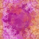 Άνευ ραφής σχέδιο με τα bellflowers floral διακόσμηση Στοκ Εικόνες