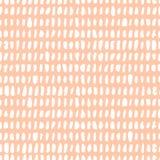 Άνευ ραφής σχέδιο με τη βούρτσα μελανιού Στοκ Φωτογραφίες