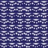 Άνευ ραφής σχέδιο με τη ρηγέ διακόσμηση Στοκ Εικόνα