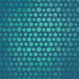 Άνευ ραφής σχέδιο με τη χρωματισμένη σύσταση σημείων Πόλκα Στοκ Εικόνες