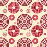 Άνευ ραφής σχέδιο με τους κύκλους Στοκ φωτογραφία με δικαίωμα ελεύθερης χρήσης