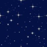 Νυχτερινός ουρανός και αστέρια απεικόνιση αποθεμάτων