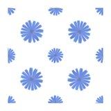 Άνευ ραφής σχέδιο με το λουλούδι ραδικιού Στοκ φωτογραφία με δικαίωμα ελεύθερης χρήσης