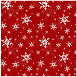 Άνευ ραφής σχέδιο με snowflakes. Διανυσματική απεικόνιση. Στοκ Εικόνες