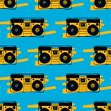 Άνευ ραφής σχέδιο οργάνων καταγραφής τύπων στοκ φωτογραφία με δικαίωμα ελεύθερης χρήσης