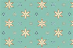 Άνευ ραφής σχέδιο λουλουδιών Στοκ Φωτογραφία