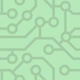 Άνευ ραφής σχέδιο. Πίνακας κυκλωμάτων υπολογιστών. Στοκ φωτογραφίες με δικαίωμα ελεύθερης χρήσης