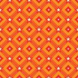 Άνευ ραφής σχέδιο σημείου αστεριών γραμμών διαμαντιών Στοκ Φωτογραφίες