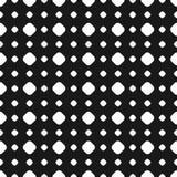 Άνευ ραφής σχέδιο σημείων Πόλκα, διανυσματική λεπτή σύσταση, μεγάλος και μικρός Στοκ εικόνα με δικαίωμα ελεύθερης χρήσης