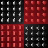 Άνευ ραφής σχέδιο στο πόκερ Στοκ φωτογραφίες με δικαίωμα ελεύθερης χρήσης