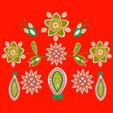 Άνευ ραφής σχέδιο στο ύφος του boho στοκ φωτογραφία με δικαίωμα ελεύθερης χρήσης