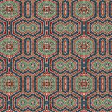 Άνευ ραφής σχέδιο 009 σχεδίων khayameya Στοκ Φωτογραφίες