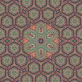 Άνευ ραφής σχέδιο 008 σχεδίων khayameya Στοκ εικόνες με δικαίωμα ελεύθερης χρήσης