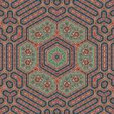 Άνευ ραφής σχέδιο 005 σχεδίων khayameya Στοκ εικόνα με δικαίωμα ελεύθερης χρήσης
