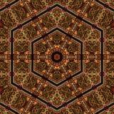 Άνευ ραφής σχέδιο 041 σχεδίων khayameya Στοκ Εικόνα