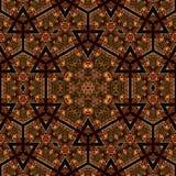 Άνευ ραφής σχέδιο 036 σχεδίων khayameya Στοκ Εικόνες