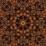 Άνευ ραφής σχέδιο 029 σχεδίων khayameya Στοκ Εικόνα