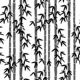 Άνευ ραφής σχέδιο ταπετσαριών μπαμπού Στοκ Φωτογραφίες