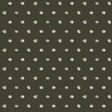 άνευ ραφής σχέδιο της άσπρης μαργαρίτας στο μαύρο υπόβαθρο, διάνυσμα Στοκ εικόνες με δικαίωμα ελεύθερης χρήσης